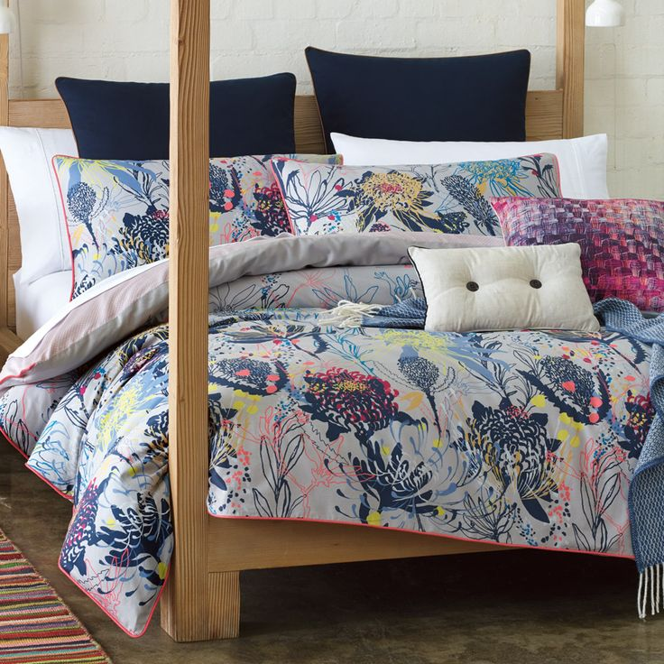 RM Williams Flowerdale Quilt Cover Set