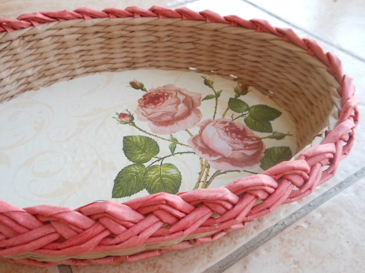 rose paper kniting