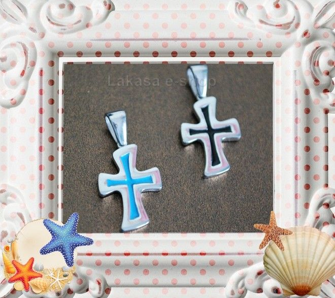 Enamel Cross Silver 925 White Gold Plated Jewelry Price : 49 euros Dimensions: 30x14x 2mm. FREE Shipping for orders up to 40 euros  All products are protected in Luxury Gift Package  Lakasa e-shop Jewelry Fine Greek Art e-mail: design.lakasa@gmail.com  https://lakasaeshop.wordpress.com/ also http://designlakasa.wix.com/gr  Follow us on facebook https://el-gr.facebook.com/Design.lakasa https://gr.pinterest.com/designlakasa/