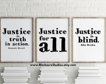 Courtroom Quotes Print Set Gift Pack Trial by BlackacreStudios