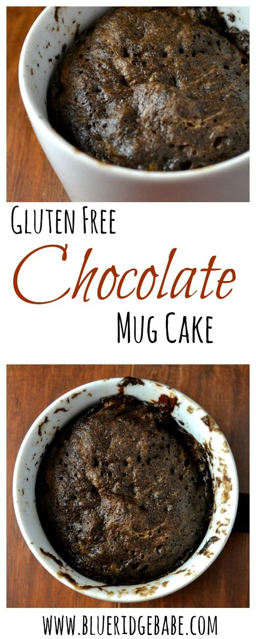 super fluffy recipe for gluten free chocolate peanutbutter mug cake...only takes 2 minutes in the microwave and tastes so rich!