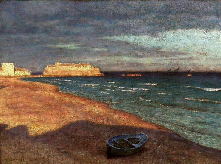 The Sea by Aleksander Gierymski, 1897 (PD-art/old), Muzeum Narodowe w Warszawie (MNW)