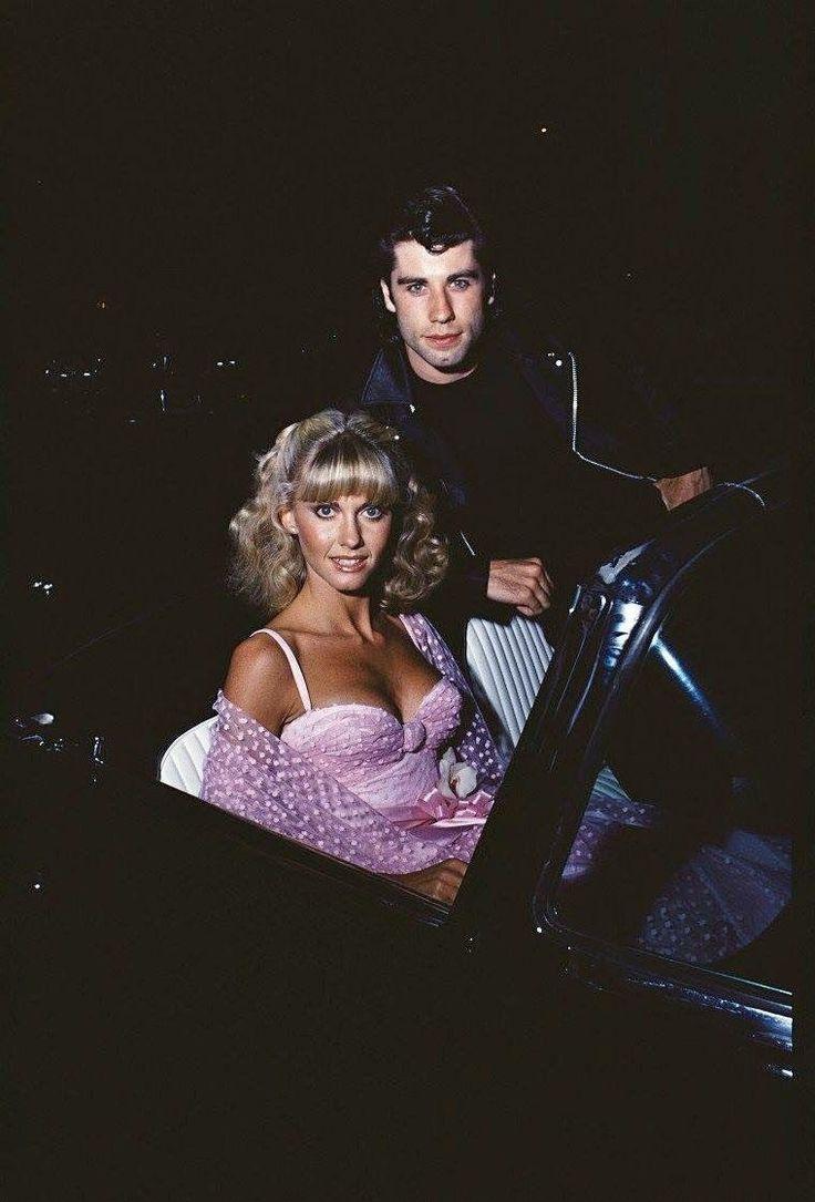 Spirit of '76 — Olivia Newton-John and John Travolta photographed...