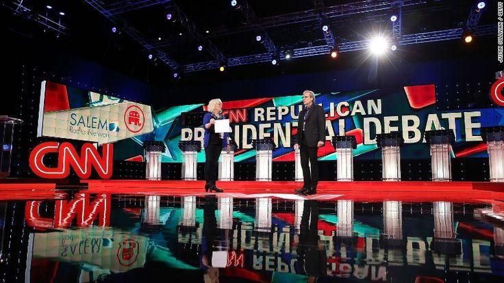 cnn gop debate las vegas stage -- GOP debate, with Trump center stage, expected to draw huuuge audience http://cnnmon.ie/1NvHhmg via @CNNMoney