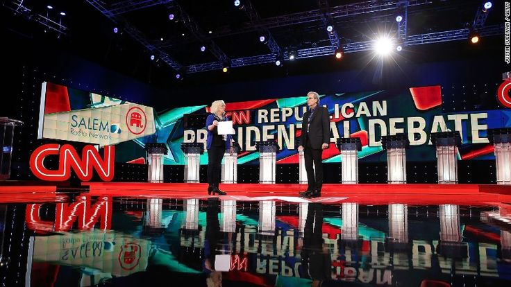 cnn gop debate las vegas stage -- GOP debate, with Trump center stage, expected to draw huuuge audience http://cnnmon.ie/1NvHhmg via @CNNMoney