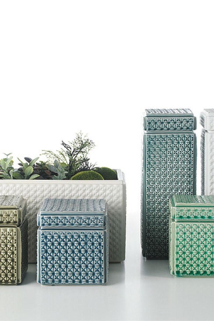 Lace and Pandora Boxes | Arfai Ceramics Portugal 2016 collection.  www.arfaiceramics.com