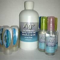 Ionic Silver Gel (Ag+) Gel Ion Perak Untuk Kesehatan & Perawatan Kulit Alami ( isi 4 botol )