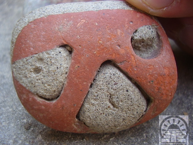 Stone Amulet found at the Bosnian Pyramids archeological site