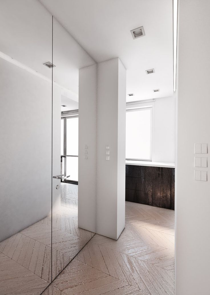 Entrance hall design in flat in POLAND - archi group. Holl wejściowy w mieszkaniu.