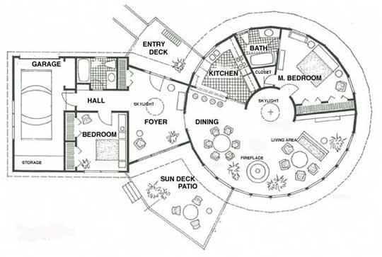 Round Homes Floor Plans: 29 Best Round Floor Plans Images On Pinterest