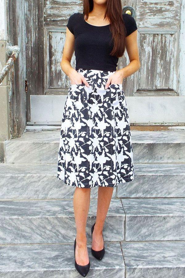Hawaii Midi Skirt