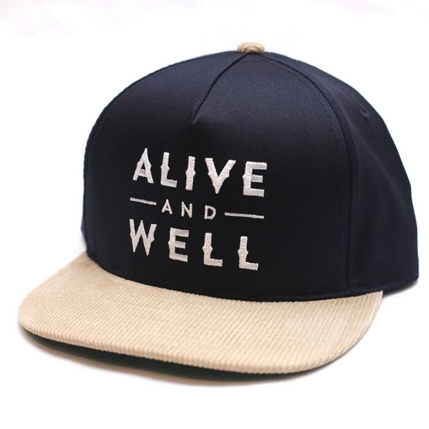 Alive & Well Logo Snapback | Alive & Well