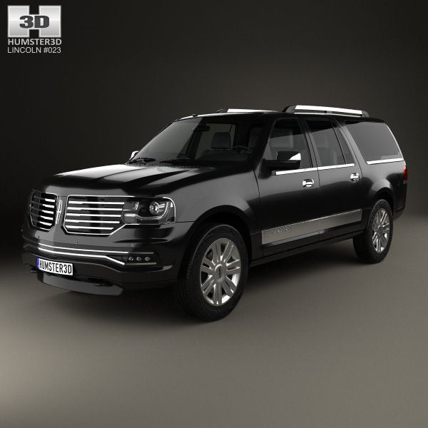 Lincoln Navigator L 2014 3d model from humster3d.com. Price: $75