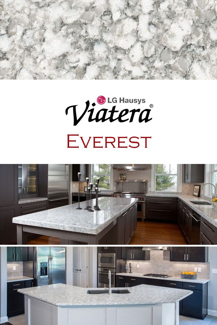 Everest By LG Viatera Is Perfect For A Kitchen Quartz Countertop  Replacement.