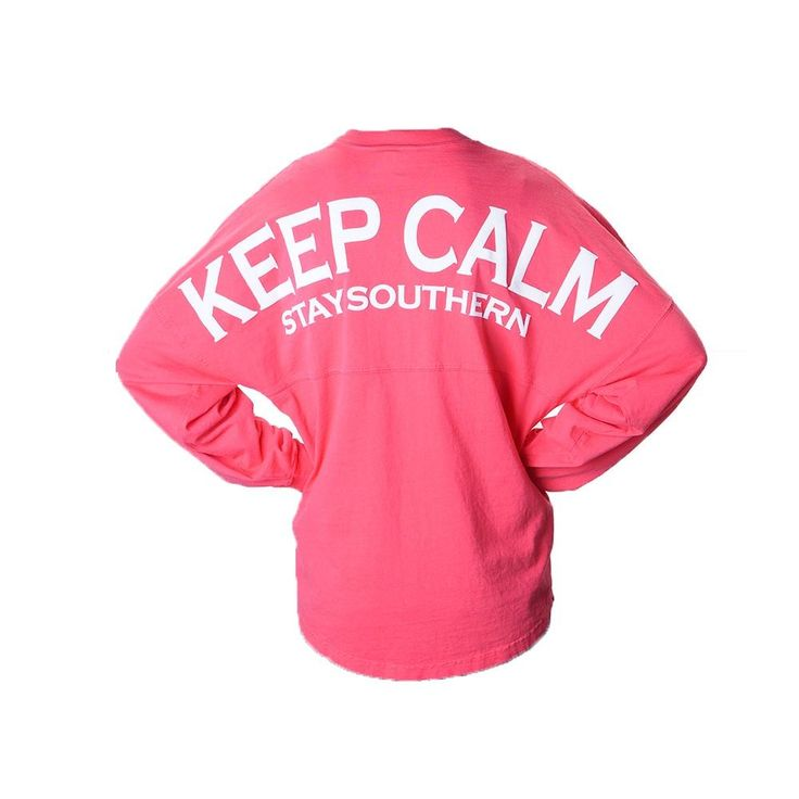 stay southern jersey shirt | Keep Calm Long Sleeve Spirit Jersey
