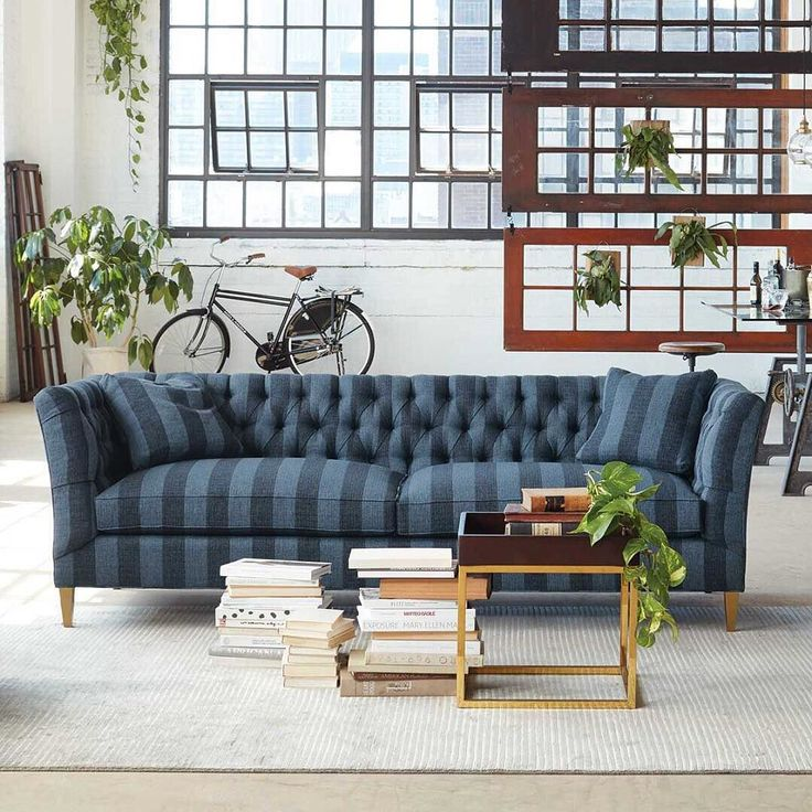 A Coveted Classic, Completely Benchmade And Handcrafted In The Foothills Of North  Carolina, The Chapman Sofa Receives A Defining Update With Brass Accents ... Part 47