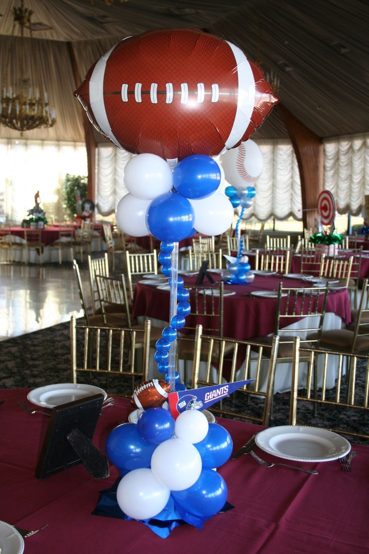 best 25 sports banquet centerpieces ideas on pinterest football centerpieces football party. Black Bedroom Furniture Sets. Home Design Ideas