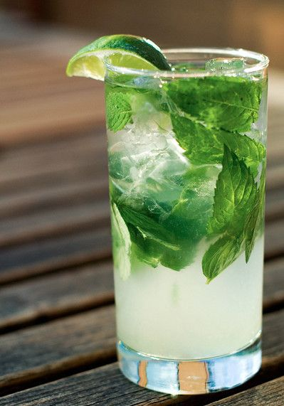 Summer Drink: fresh lime and basil
