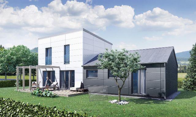 Pokud hledáte perfektní prostor za vynikající cenu, tak se vám zalíbí náš rodinný dům Goopan M 123, který je důkladně propracován tak, aby každý člen velké rodiny, měl dostatek soukromý a krásné zázemí :) Tento dům má řešení 4+kk a i tento dům můžete získat za mnohem menší cenu, než je měsíční splátka stejně velkého bytu v panelovém domě :) Více na www.goopan.cz