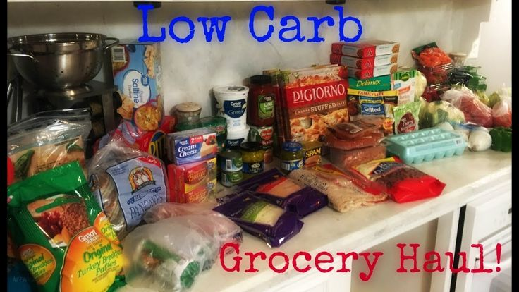 Low Carb Grocery Haul 7~10~17