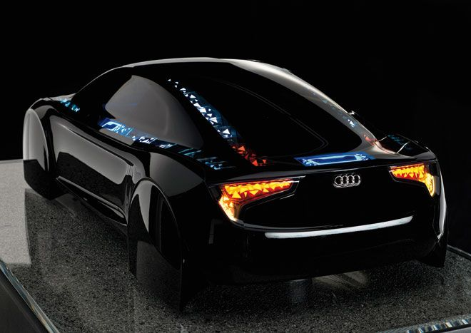 Audi's new lighting technology - must watch this video