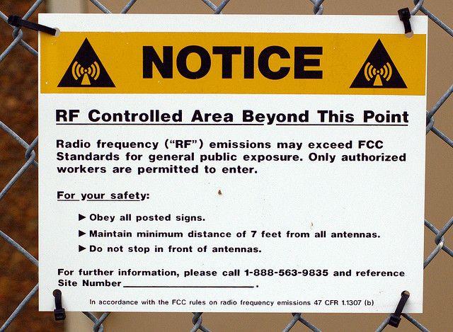 RF Controlled Area