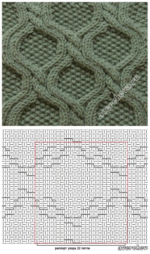 Cable knit pattern                                                                                                                                                                                 Mais