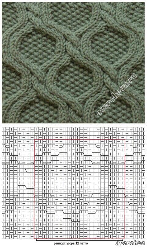 Cable knit pattern                                                                                                                                                                                 Mais