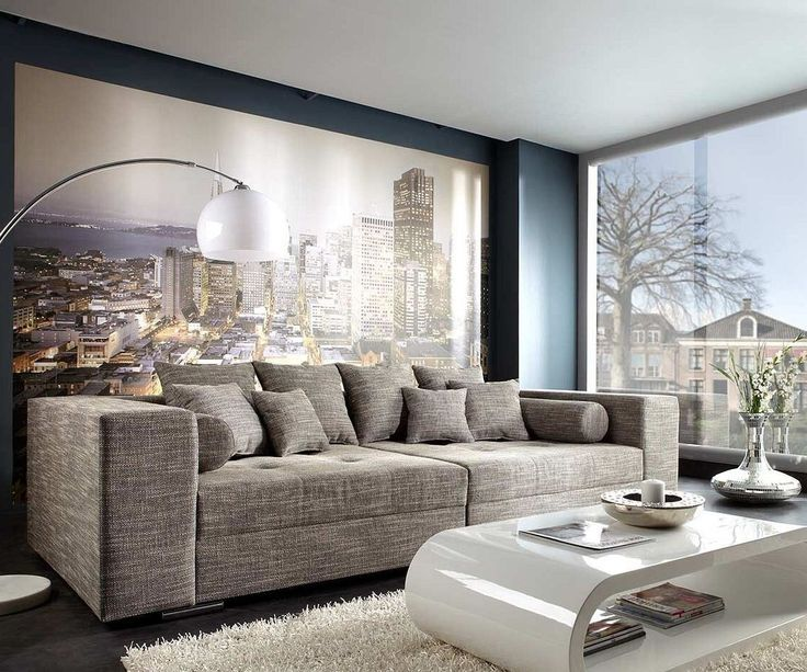 DELIFE Bigsofa Marlen 300x140 Cm Hellgrau Couch Big Sofas Jetzt Bestellen Unter Moebelladendirektde Wohnzimmer Bigsofas Uidc549e237 429c