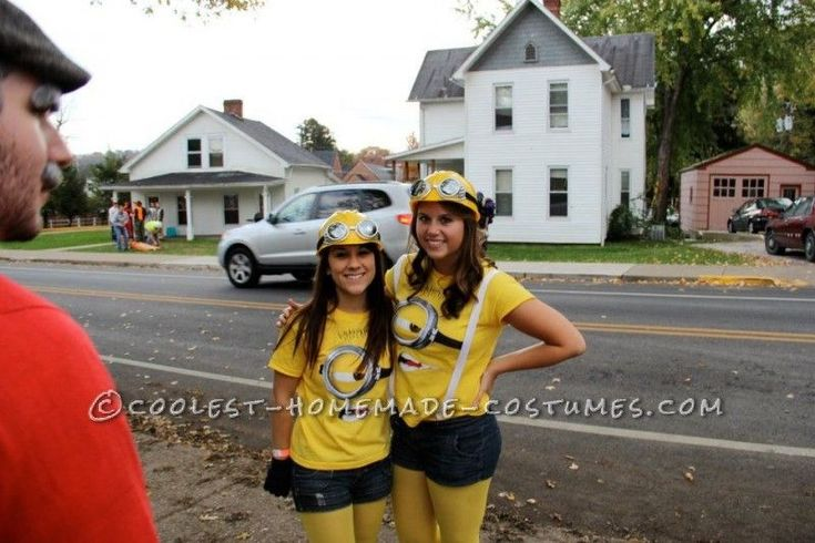 Coolest Despicable Me Minion College Girl's Group Costume ...This website is the Pinterest of costumes