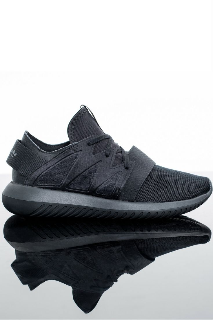 adidas own all black everything and this glossy black Tubular encompasses a sleek sneaker urban vibe. Athletic heritage and reflective adidas branding, count us in 🙋🏽