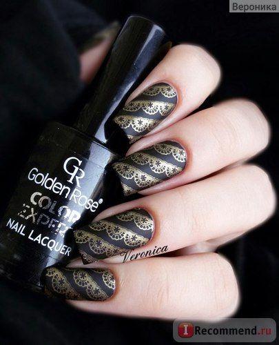Профессиональный <b>лак для ногтей Golden</b> Rose Nail Art фото ...