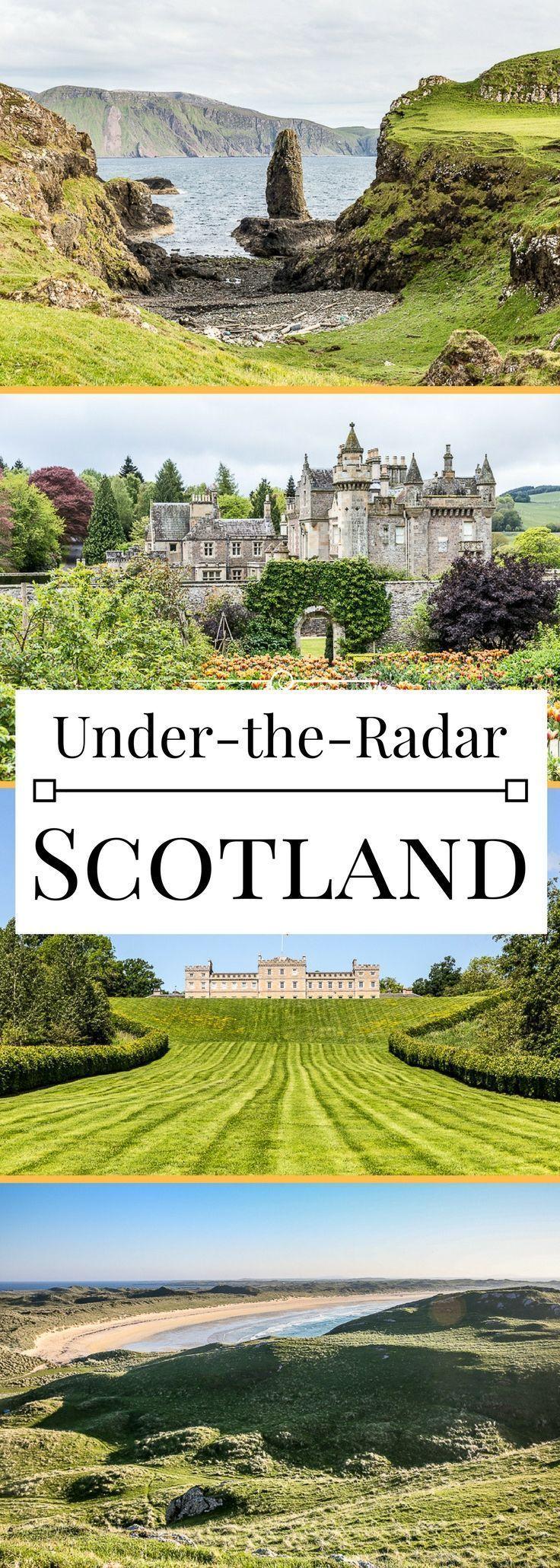 5 Orte unter dem Radar in Schottland, von den Burg…