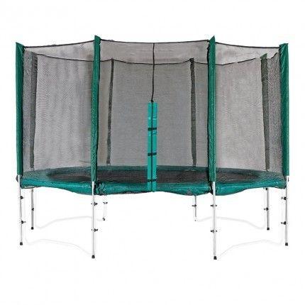 12ft Trampoline 8 Pole Enclosure | Trampoline Surrounds