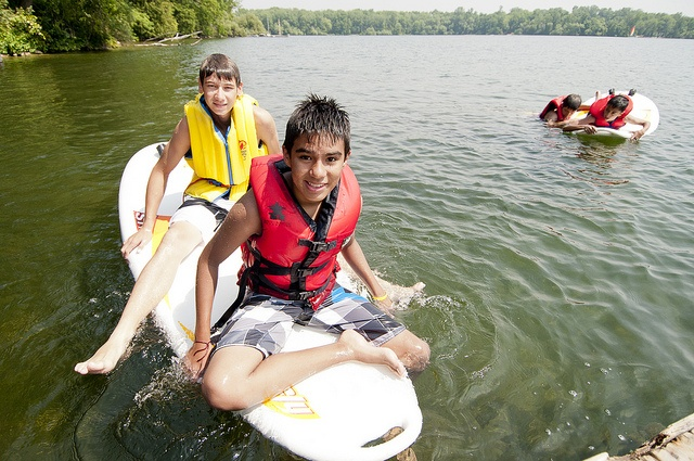 Wind Surfing at Summer Camp through the YMCA of Simcoe/Muskoka