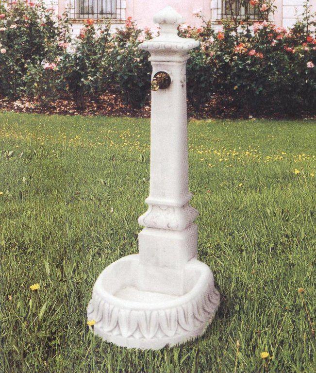 Fontana GP piccola in cemento cm 59x45x125H - arredogiardini.it