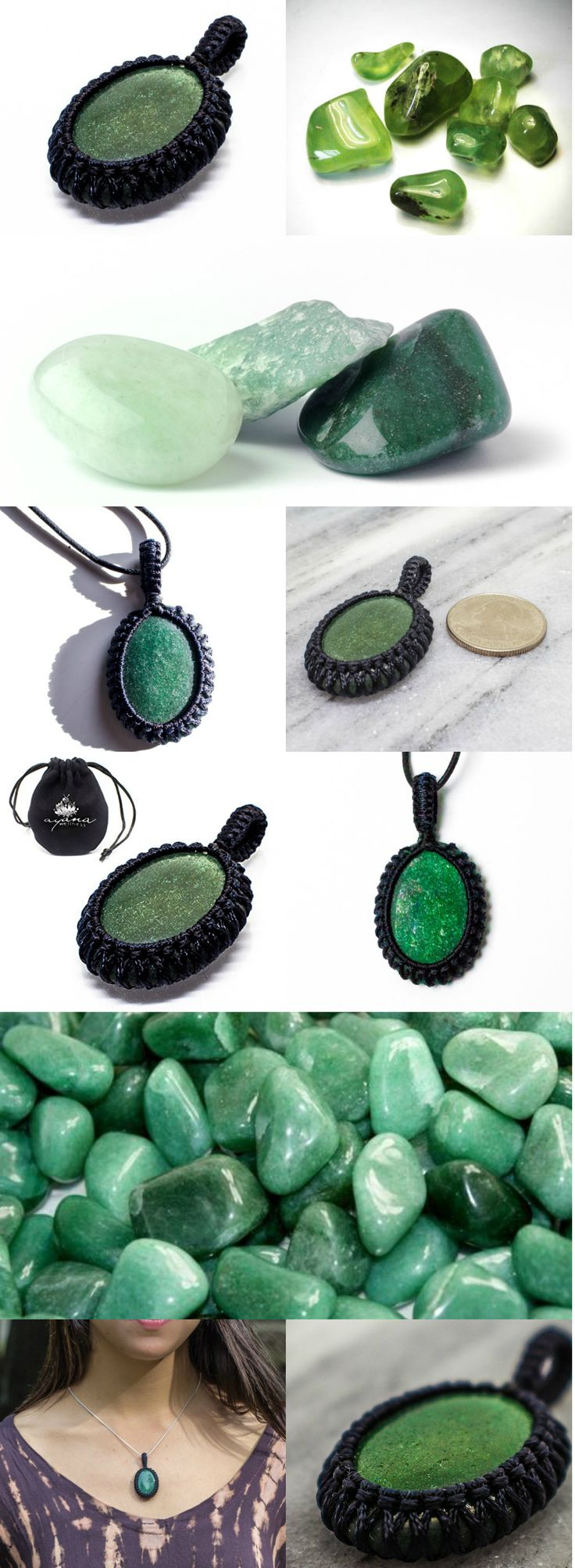Green Aventurine allows one to journey through life with self-confidence and the capability to embrace change. Find more information about our amazing Green Aventurine Crystal Necklace at : http://ayanaproducts.com/green-aventurine-healing-necklace
