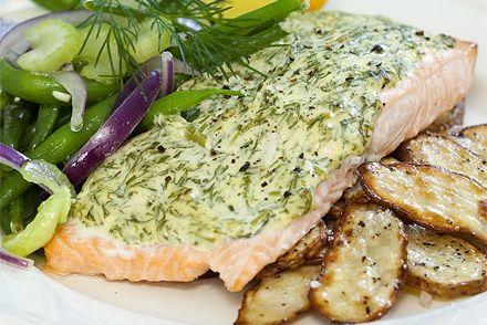 Lax i ugn Тут ви можете знайти багато простих, смачних і поживних рецепти для лосося в духовці./Här hittar du många enkla, goda och nyttiga recept på lax i ugn.