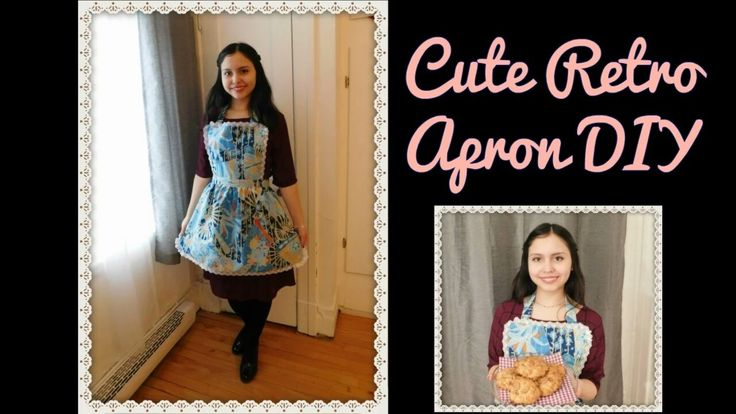 Step by step cute retro apron tutorial! :) Subscribe to my channel: TheVintageFlower!! :D