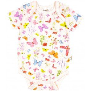 Toshi Onesie Short Sleeve Butterfly