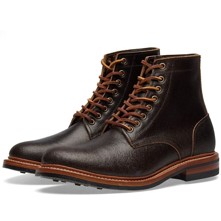 Oak Street Bootmakers - Trench Boots. Crafted by hand in the Horween factory in Chicago, USA