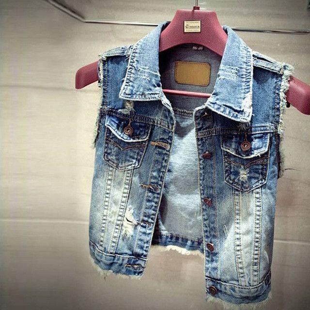 2017 Spring Summer Short Jacket Coat Women Denim Jacket Slim Tops Wears