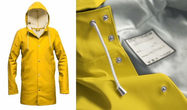 Stutterheim raincoats. Great attention to detail, superb quality which is of course reflected in the price. Awesome website too.