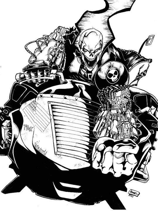Ghost Rider 2099 by Pierre-MINNE on DeviantArt