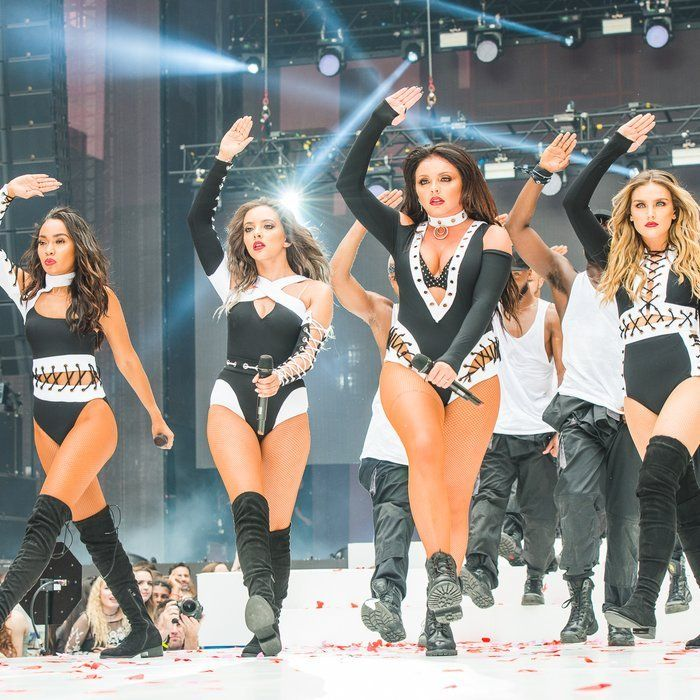 Little Mix performing at Capital FM Summertime Ball 2016 in Wembley, London ~ June 11, 2016