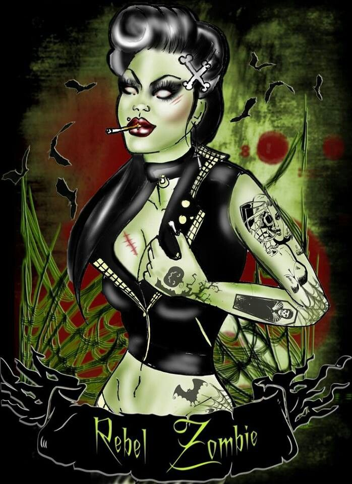 55 best images about zombie pinups on pinterest rockabilly zombie girl and a witch. Black Bedroom Furniture Sets. Home Design Ideas