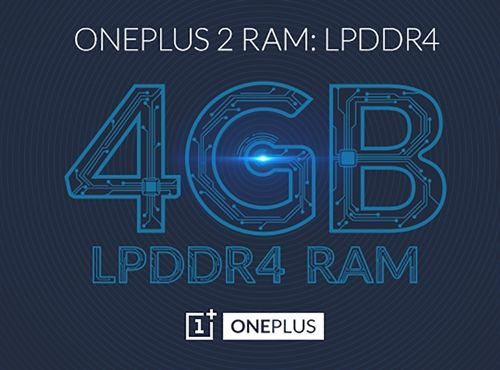 OnePlus 2 Will Pack With Staggering 4GB LPDDR4 RAM - SIJUTECH