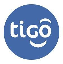 tigo (logo with a smile) – telecom company