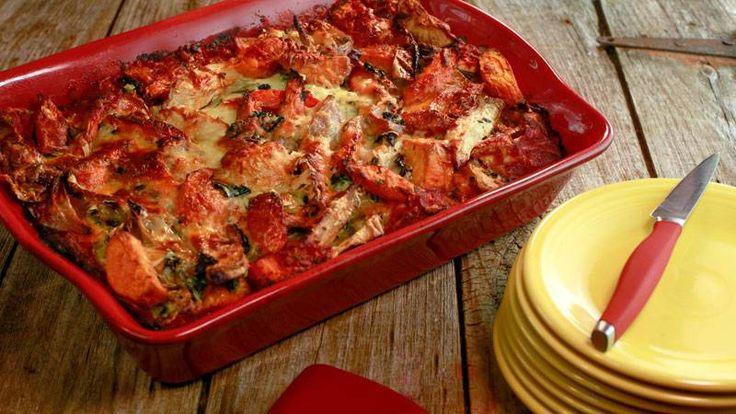 Kelsey Nixon's Roasted Vegetable Lasagna Recipe