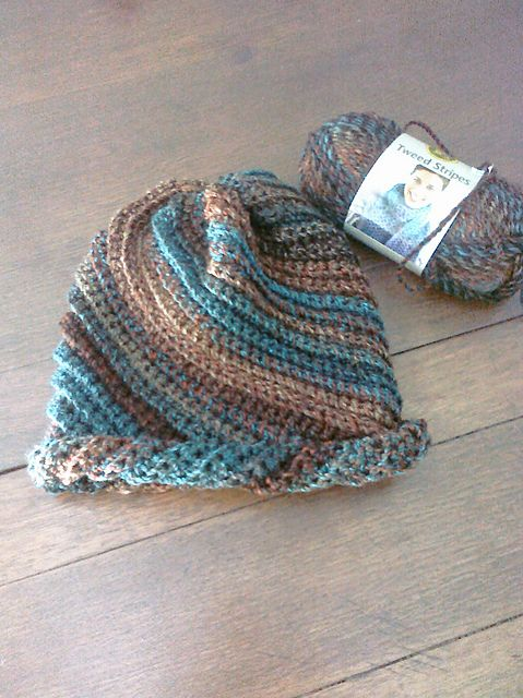 Give it a Whirl crochet hat; crochet version of the knitted Cute Snail Hat by Omura.- love the colors! Free pattern at Ravelry.